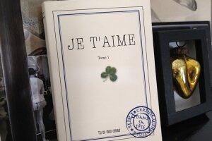 """Carnet livre je t'aime """"tu es mon amour"""""""