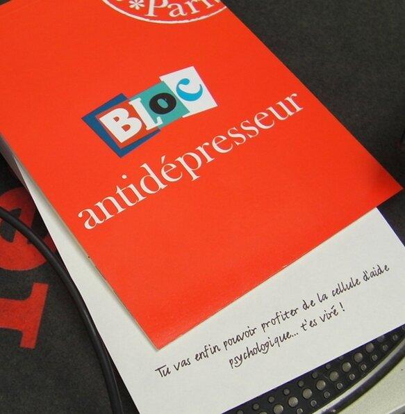 Bloc ANTIDEPRESSEUR