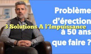 3 Solutions A l'Impuissance